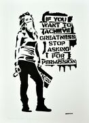 Banksy - Artist Proof 2 Of 20 If You Want To Achieve Greatness