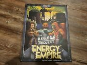 The Manhattan Project Energy Empire Board Game By Minion Games - Open Box