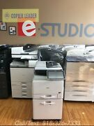 Ricoh Mp C407- Color And B/w Print-copy-scan-fax-multifunction Printer Low Meter