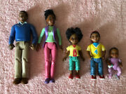 Fisher Price Loving Family Dollhouse Aa People Mom Dad Baby Sister Brother Lot