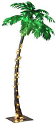 Lightshare 7 Feet Palm Tree, 96led Lights, Decoration For Party And Christmas