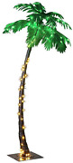 7feet Lighted Palm Tree, Large-zls7ft, 7-feet Multicolor For Party And Christmas