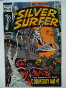 The Silver Surfer No.13,14,15  1970 Marvel 3 Book Lot