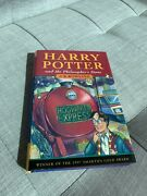 Harry Potter And The Philosopherand039s Stone Jk Rowling First Edition 4th Print