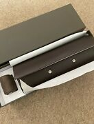 Brand New Patek Philippe 4 Watch Travel Case With Wooden Veneer Sides.