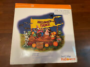 Dept 56 Halloween Dance Animated And Plays Monster Mash Tune 55189 Brand New