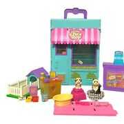 Littlest Pet Shop Lps Store Kenner Carry Case Playset Accessories Vintage Toy 92