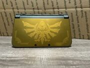 New Nintendo 3ds Xl Zelda Hyrule Gold Limited Edition System With 12 Games