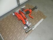 Ridgid 300 Carriage 311 With 360 Cutter 341 Reamer 1/2 To 3/4 Die Head Rigid