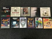 Rare Amiga 11 Game Lot Dungeon Master Time And Magik Hitchhikers Guide To Galaxy +