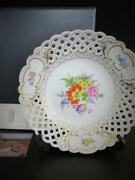 Meissen Decorative Plate Large Plate With Western Pottery