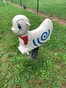 Vintage Snail Playground Spring Ride On Toy Cast Aluminum- Mexico Forge