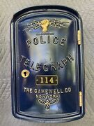 Antique Gamewell Police Telegraph Call Box Restored From Binghamton, N.y.