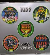 Kiss Palms Casino Limited Edition Uncirculated 25 Casino Chips