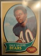 Nm Well Centered 1970 Topps Football 70 Gale Sayers Beautiful Card