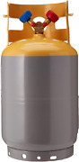 Mastercool 62010 Gray/yellow 30 Lb Refrigerant Recovery Tank Without Float Switc