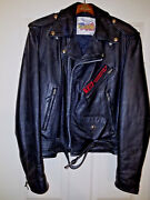 Terminator 2 Judgement Day - Crew Jacket From Set Leather / 42 And Free Ship