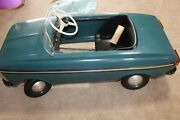 Vintage Russian Pedal Car Moskvich In Original Box Never Used Rare Must See