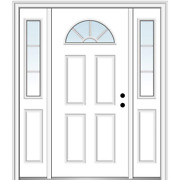 National Door Company Zz05460l Smooth Brilliant White Left Hand Inswing Front