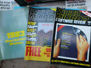 Old Magazines Which Micro And Software Review Computer Magazine X 3