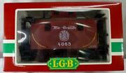 Lgb 4065 Rio Grande Caboose W/metal Wheels, Tail Lanterns And Knuckle Couplers