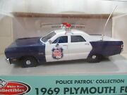 White Rose Collectibles - Wisconsin State Patrol - 1969 Plymouth Fury 1/43