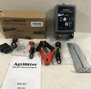 Agriotter Electric Fence Energizer 20 Acre 2 In 1 Battery Or Ac 12 Volt- Read