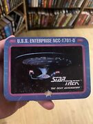 Star Trek The Next Generation Playing Cards And Collector's Tin Box 1992