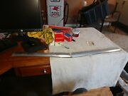 Nos 1965 1966 Mustang Fastback Coupe Gt Convertible Front Hood Edge Trim Molding
