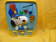 Vintage 1980 Romper Room Snoopy's Electronic Playmate Activity Center Complete