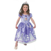 3 To 4 Years/ Toddler-small - Sofia The First Deluxe Fancy Dress Costume