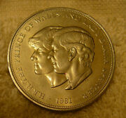 1981 Charles And Lady Diana Spencer Commemorative British Coin
