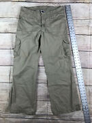 The Size 10 Wide Leg Cargo Pants Stain