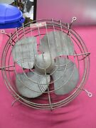 Vintage 12 Blade Dominion Electric Corp Fan 2019 -for Parts Or Repair-untested