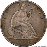 1852-o Liberty Seated Half Dollar Pcgs Xf40 Low Mintage Of Only 144000