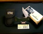 Schrade 47ot Liner Locker Knife And Sheath Old Timer 4-7/8 Closed Usa , Packaging