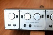 Luxman A2003 Electronic Crossover 3way Tube Valve For Tannoy/altec/jbl Speaker