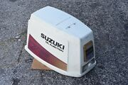 Dt 75suzuki Cowling White Late1980s 2 Cycle 61404-95850-01t Dt85