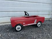1965 Ford Mustang Pedal Car Original Barn Find Antique Collectible