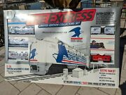 New Express Limited Edition Collectors Electric Ho Scale Model Train Set Usps