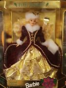Happy Holidays Barbie 1996 Special Edition By Mattel Box Never Opened