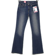 Signature Levi Strauss Womens Modern Bootcut Jeans Size 6 X 33 Mid Rise Stretch