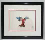 Micky Mouse Fantasia Sericel Framed And Matted Incl Coa Sequence 7 Scene 38