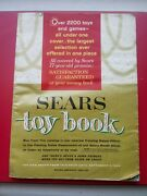 Vtg 1964 Sears Toy Book Catalog◾ Pedal Cars Marx Ideal Barbie Toy Soldiers