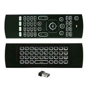 Tv Box Led Backlit Wireless Usb Receiver Keyboard Controller Air Mouse For Pc