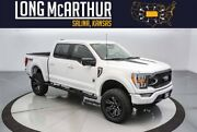 2021 Ford F-150 Black Widow Lifted Crew 4x4 Moonroof Leather 4x4 Sport Sync 4 12 Inch Touchscreen Tow Pkg Bando Premium Audio