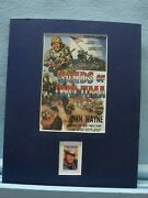 John Wayne In Sands Of Iwo Jima Honored By His Own Stamp