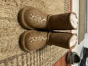 Toddler Leopard Uggs Size 8