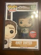 Funko Pop Television Parks And Rec Andy Dwyer Mouse Rat Fugitive Toys