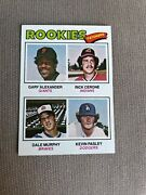 1977 Topps Rookie Catchers 476 Dale Murphy Rookie Card